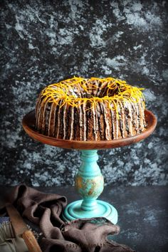 CHOCOLATE & ORANGE CAKE - Chocolate & Orange Cake #chocolateandorangecake #bundtcake #baking #baked #celebration #indianfoodblogger #entertaining #partycake #dessertcake