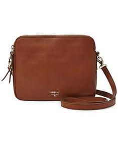 Fossil Sydney Leather Crossbody - Fossil - Handbags & Accessories - Macy's
