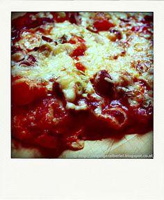Pizza - Teig und vegetarischer Belag | leipziger Alberlei