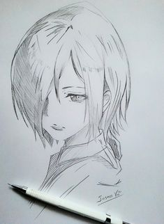 Anime Drawings Sketches, Dark Art Drawings, Anime Sketch, Cute Drawings, Manga Art, Anime Art, Tokyo Ghoul Drawing, Wie Zeichnet Man Manga, Manga Drawing Tutorials