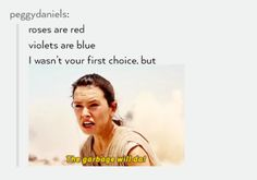This is epic! You would only know if u watched Star wars VII Star wars, Tumblr, Funny