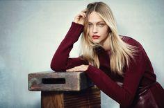 Sasha Pivovarova, Russian model for VOGUE China June 2015 by Boo George | via www.orientsystem.com