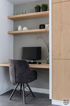 Luxury Homes - Interior Design - Home Furnishings Luxury Homes Interior, Luxury Home Decor, Home Interior Design, Interior Ideas, Home Office Closet, Office Nook, Living Room Grey, Home Living Room, Workspace Inspiration