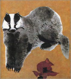 Alfred Könner [Bilderzoo] by Illustrator Mirko Hanák Cute Animal Illustration, Illustration Artists, Watercolor Illustration, Animal Paintings, Animal Drawings, Ink Paintings, Animals Images, Cute Animals, Animal Magic