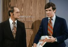 Jack Riley and Bob Newhart.