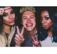 Dinah Jane Hansen, Niall Horan and Normani Kordei manip