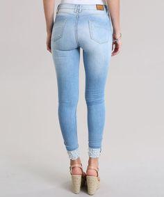 Calça Jeans Cinza | Calça Masculina H&M Usado 15131861 | enjoei
