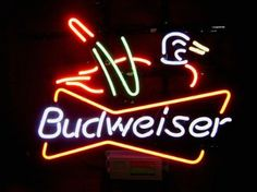 New coors light golf real glass neon light sign beer bar pub garage revolutionary neon gifts budweiser duck beer signs neon light neon signs pub bars sign 19 aloadofball Gallery