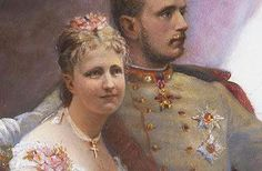 On the 10th May 1881, Crown Prince Rudolf married Stephanie of Belgium at the Augustine's Church in Vienna.