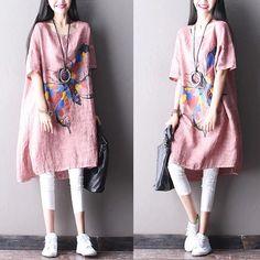 Pink lovely long dress