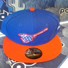 Tucson Padres Red/White and Blue 59/50 New Era