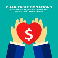 """Tax deductible donations are a great way to give your refund a boost when you contribute to worthy causes. Being generous is a good thing, and it also has an """"up-side"""" on your tax return when you claim charity donations. Tax Refund, Tax Deductions, Donation Tax Deduction, Charitable Donations, Donate To Charity, Make A Donation, Elementary Schools, Something To Do"""