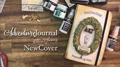 Art Journal - como reemplazar las tapas y decoración final