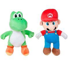 Gosedjur Super Mario Bros - Mario & Yoshi (25cm)