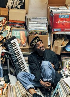 crate digging with Andre 3000
