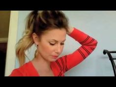 Fashion Pony Tail - This website has tons of awesome hair tutorials and cute DIY projects!