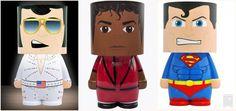 Look-Alite Superman, Michael Jackson, Elvis Presley Led Character Light #Groovy #Character
