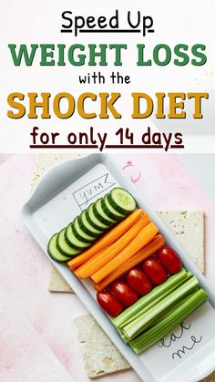 Speed up your weight loss goal with the incredible Shock Diet. Find out what is it, what to eat, and how to follow the Shock Diet for two weeks. 13 Day Diet, 2 Week Diet Plan, Easy Diet Plan, Diet Plans To Lose Weight, Food Tips, Food Hacks, Shock Diet, Lose 25 Pounds, Diet Challenge
