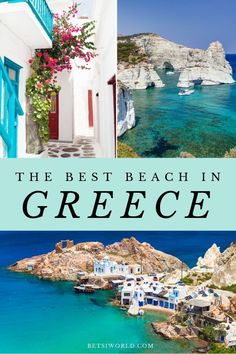 The best beach in Greece to visit! Getaway on a luxury vacation to the best beach in Greece! Soak up the sun on a gorgeous sandy beach in Athens Greece! This destination is the perfect vacation for a romantic couples getaway! Travel Destinations Beach, Europe Travel Guide, Places To Travel, Beach Travel, Travel Packing, Packing Cubes, Shopping Travel, Travel Hacks, Hawaii Travel