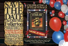 The Olde Ship British Pub & Restaurant celebrates 20 years! Party on April 21, 2013 at The Muckenthaler, Fullerton CA