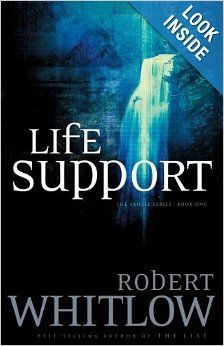 Life Support (Santee, Book 1): Robert Whitlow. Baxter Richardson survived a fall from a cliff. His survival depends on the machines that help him breathe. On the haunted, unstable wife who wants to pull the plug and hide her secrets. On the  father who wants him alive for love and money.   Excellent legal thriller. Love Whitlow.