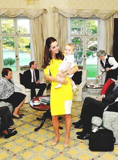 Prince George & the Duchess of Cambridge