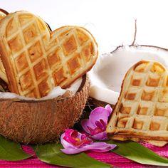 Tea Time, Waffles, Pancakes, Muffins, Food And Drink, Gluten, Breakfast, Sweet, Beignets