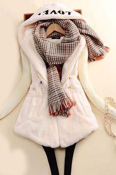 Fashion Slim Solid Color Cotton Coat 3