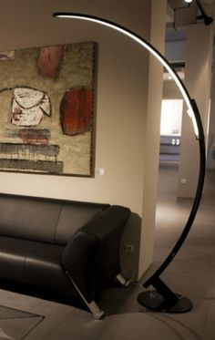 Visit our page for a lot more that is related to this sensational unique lamp Strip Lighting, Cool Lighting, Modern Lighting, Modern Floor Lamps, Luminaire Design, Lamp Design, Design Design, Lampe Bauhaus, White Glass Coffee Table