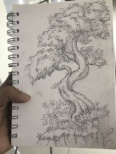 Just for fun Landscape Drawing Tutorial, Landscape Drawings, Simple Landscape Drawing, Tree Drawing Simple, Drawing Scenery, Nature Drawing, Art Drawings Sketches Simple, Eye Drawings, Hand Drawings