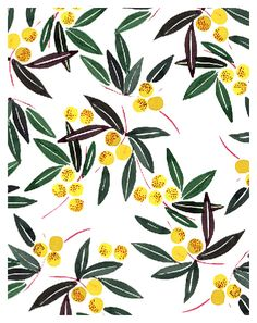 Madronyo, textile print for Uniqlo | Miss Capricho
