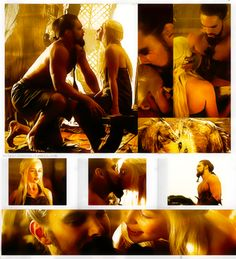 Daenerys and Drogo they r just hot