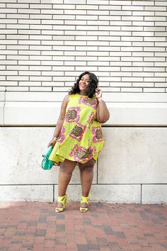 Musings of a Curvy Lady, Plus Size Fashion, Fashion Blogger, Demestiks NYC, Reuel Reuel, Reuben Reuel, Beyonce, African Print, Style Hunter, You Got It Right, The Outfit, Women's Fashion