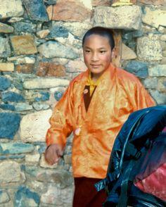 THE GOLDEN CHILD  The 17th Karmapa Ogyen Trinley Dorje, Tibet