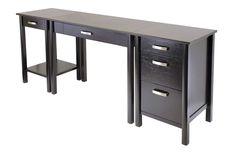13 best simple computer desk images desk office home desk nook rh pinterest com