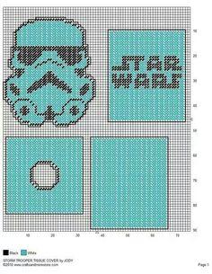 Star Wars Storm Trooper Tissue box