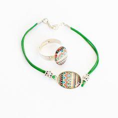 Image of Bracelet/bague pyssanka