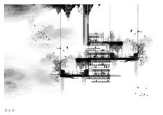 No 035 – Architectural Accents #contrast #watercolour #concept