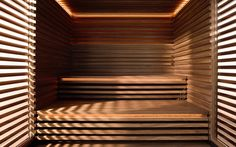 MATTEO THUN Design Sauna: interior