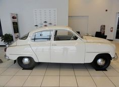 1961 SAAB 96 - love these little cars, if nothing else for the old school saab logo.