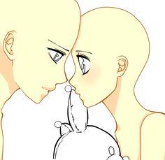 anime bases | Anime Vampire Base Teeny pony couple base by