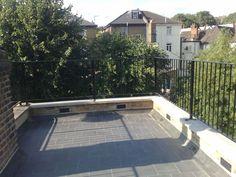 Ferrum Metal | Metal Railings London | Roof Terrace Railing - West Hampstead