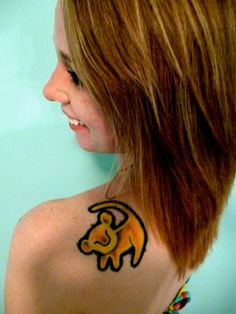 this is the most vibrant simba symbol i've seen. i like it