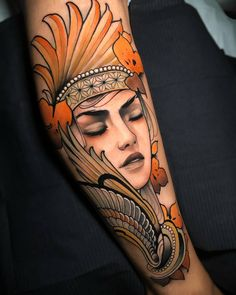 Amazing Work by➡️ Made ✅✅ 𓂀🙏 tag friends, like, comment, shares apariencie 🙏💯 Dibujos Tattoo, Tattoo On, Neo Traditional Tattoo, Beautiful Tattoos, Woman Face, Girl Tattoos, Tatting, Instagram, Medusa