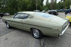 Ford Lincoln Mercury, Ford Torino, Ford Fairlane, Lifted Ford Trucks, Abandoned Cars, Gas Pumps, Ford Motor Company, Collector Cars, Land Rover Defender