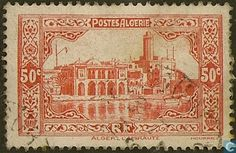 Algeria - Admiral Building in Algiers 1936
