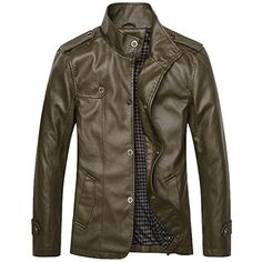 Partiss Men's Slim Fit Stand Collar PU Leather Jacket Chinese 2XL,Army Green Partiss http://www.amazon.com/dp/B017CN48GE/ref=cm_sw_r_pi_dp_WGMZwb0E4DZSZ
