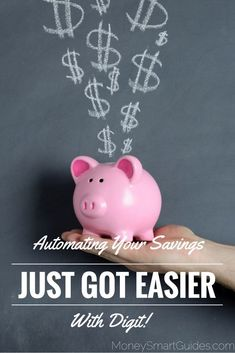 You don't have to think about how much you can save this month or when an upcoming bill is due or when you get paid next. The Digit algorithm does all this for you. http://www.moneysmartguides.com/automating-savings-just-got-easier-ever-with-digit