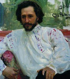 Leonid Andreev, by Ilya Repin.