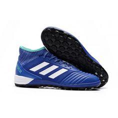 sale retailer 3ccb1 e7e6b Chaussure foot salle Nouvelle adidas Predator Tango 18.3 TF Bleu Blanche  Noir